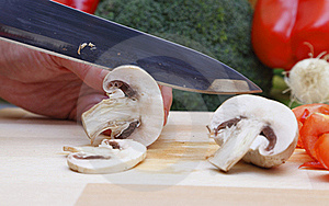 Cutting Vegetables Stock Photos - Image: 17933643