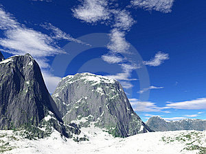 Winter Mountains Royalty Free Stock Photography - Image: 17935317