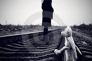 Toy On Rails Stock Photo - Image: 17935460