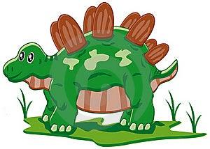 Baby Stegosaurus Royalty Free Stock Image - Image: 17938166