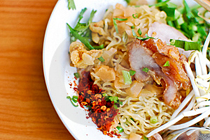 Asian Style Noodle Royalty Free Stock Images - Image: 17945699