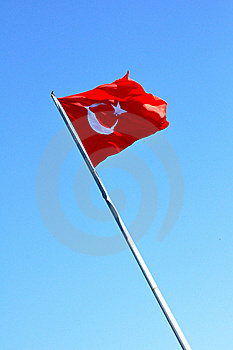 Turkish Flag Royalty Free Stock Image - Image: 17948746