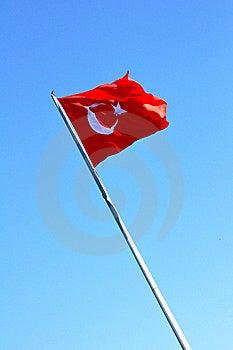 Turkish Flag Royalty Free Stock Image - Image: 17948746