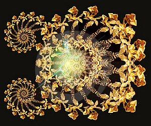 Gold Roses Stock Photo - Image: 17949210