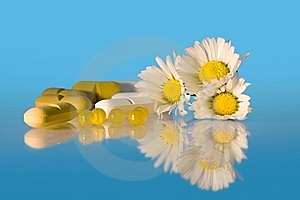 Daisies And Drugs Stock Photos - Image: 17951823