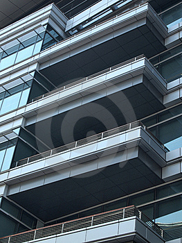 Modern Office Terrace Stock Photo - Image: 17951930