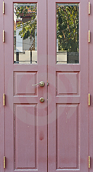 Closed Door Royalty Free Stock Image - Image: 17952616