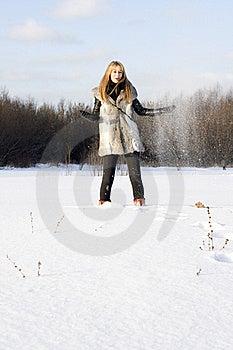 Girl Walking Stock Photography - Image: 17957182