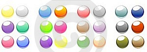 Set Of Vector Web Buttons Stock Photos - Image: 17959833