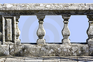 Old Stone Railing Royalty Free Stock Photography - Image: 17960807