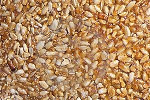Nuts-and-honey Bar Stock Photo - Image: 17960820