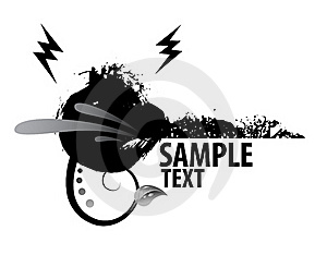 Grungy Banner Royalty Free Stock Photography - Image: 17966357