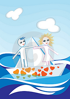 Paper Boat Stock Photography - Image: 17966552