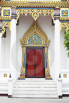 Door  Woodcarving In Thailand Royalty Free Stock Photos - Image: 17968278