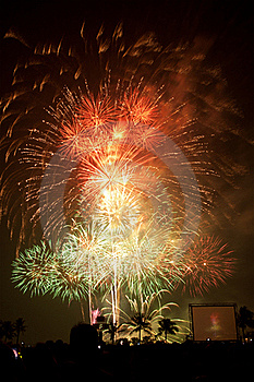 Fireworks Exploding Royalty Free Stock Photos - Image: 17968458