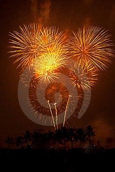 Fireworks Exploding Stock Photo - Image: 17968780