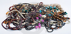 Necklaces And Beads Stock Photos - Image: 17970033