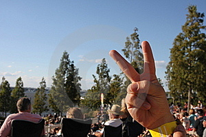 Peace Sign Royalty Free Stock Photo - Image: 17970065