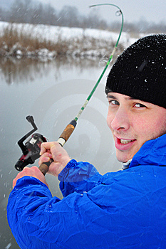 Winter Fishing Stock Images - Image: 17970534