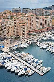 Fontvieille. Stock Images - Image: 17971404