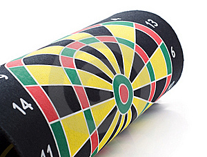 Coiled Target Darts Stock Images - Image: 17971414