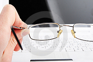 Bad Vision. Glasses Stock Images - Image: 17972394