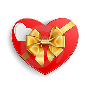 Heart Shape Gift Royalty Free Stock Image - Image: 17973476