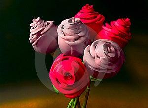 Digital Roses Royalty Free Stock Photo - Image: 17980085