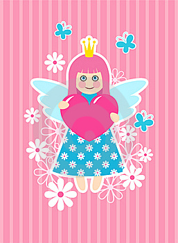 Cute Princess Stock Images - Image: 17988394