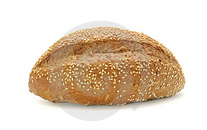 Bran Bread With Sesame Seeds Stock Photo - Image: 17991210