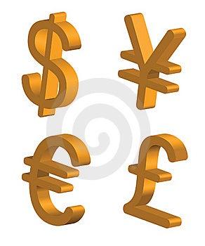 Waluta Znaki Fotografia Royalty Free - Obraz: 17998147