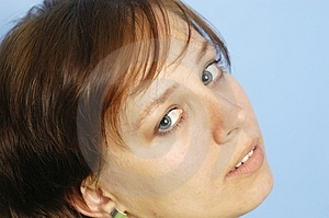 Woman's Face Free Stock Photo