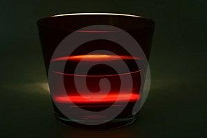 Glass With Liquid Stock Image