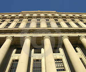 Elegant Office Building Stock Photo