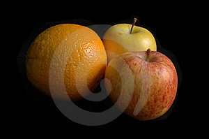 Fruit Still Life Free Stock Photography