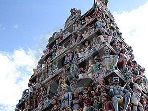 Temple hindou Photo stock