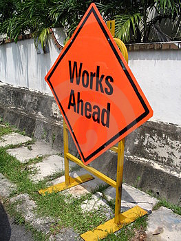 Works Ahead Free Stock Photos