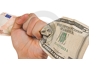 Currency Power Free Stock Image
