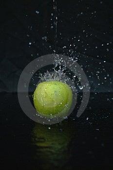 Apple Splash Royalty Free Stock Photography - Image: 186427
