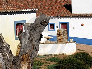 Traditional Portuguese House Stock Image