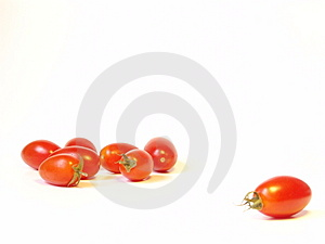 Rode tomaten Royalty-vrije Stock Fotografie