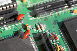 Computer Bugs Stock Photos