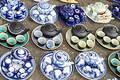 Mini tea pots Royalty Free Stock Photography