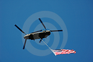 Stars And Stripes Fly High Royalty Free Stock Photography - Image: 1800297