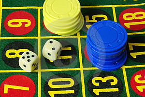 Casino variant 2 Royalty Free Stock Photography