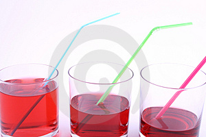 Red Drink Royalty Free Stock Photo - Image: 1802055