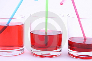 Red Drink Stock Images - Image: 1802094