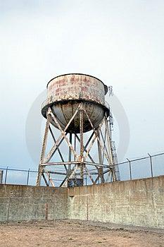 Iarda Di Esercizio A Alcatraz Fotografia Stock Libera da Diritti - Immagine: 1807605