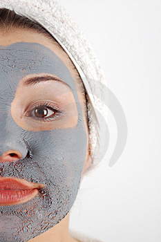 Beauty mask #17 Stock Images