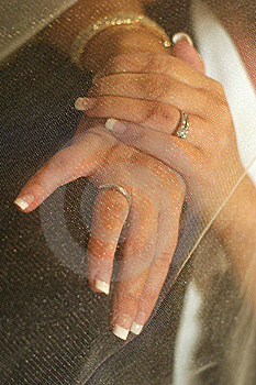 Bride's Hands Stock Photography - Image: 1809052